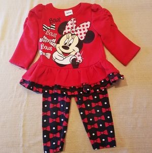 Disney Minnie Mouse outfit - 12M